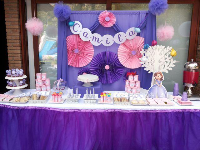 Preciosa fiesta de la princesita Sofía | Blog de BabyCenter