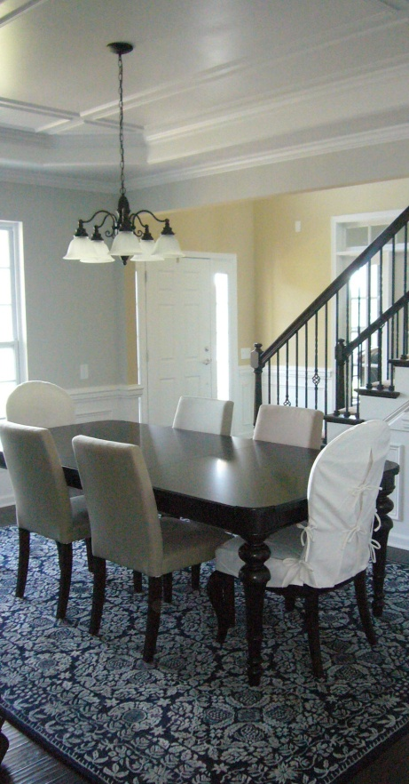 blue dining room. 30 best Dining room images on Pinterest