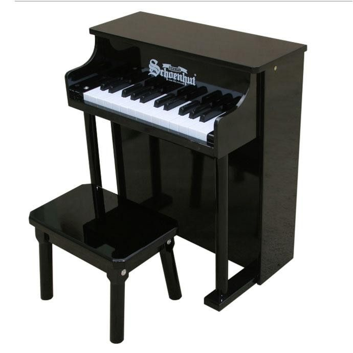 25 Key Traditional Spinet Piano