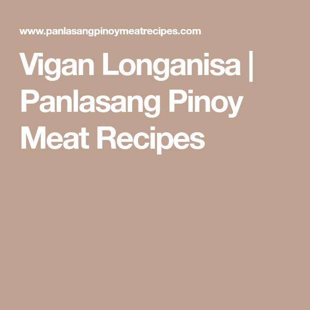 Vigan Longanisa | Panlasang Pinoy Meat Recipes