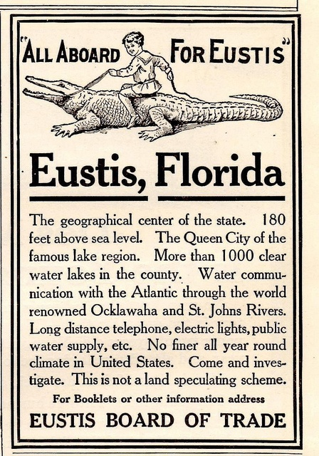 Real Old Florida style land speculating.