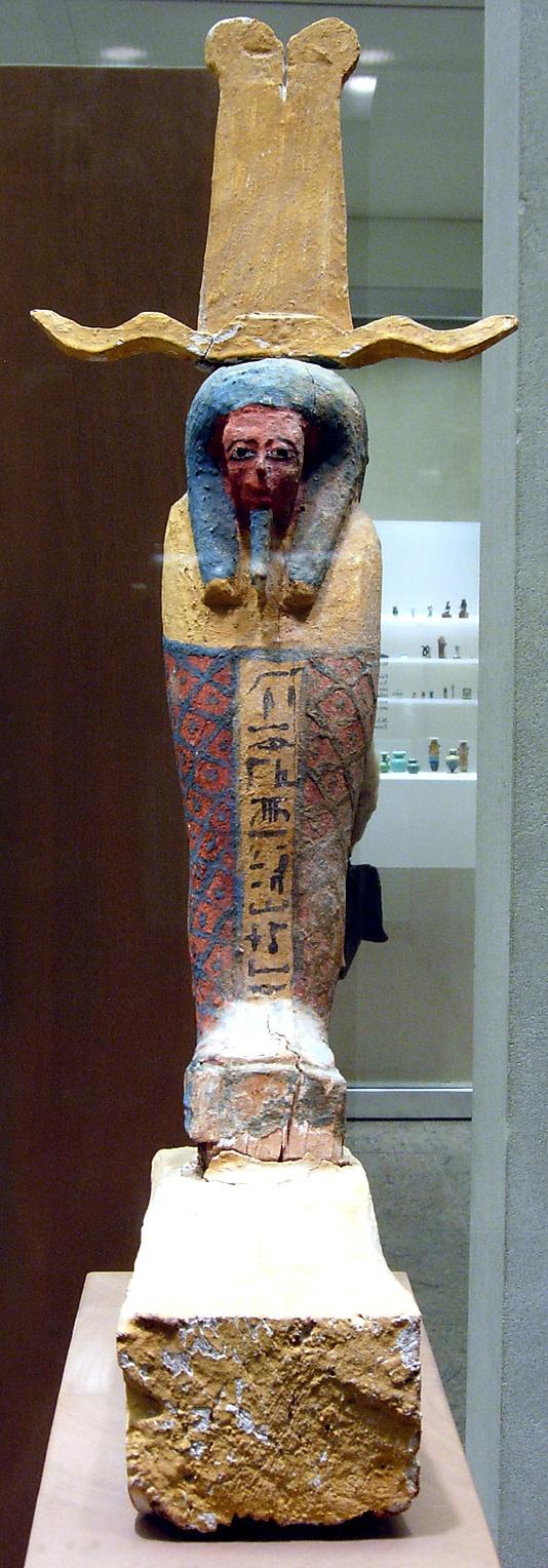 Ptah-sokar-Osiris figure of Ankhshepenwepet from the Kushite Dynasty 25, 712–664 BC. Thebes, Deir el-Bahri, Tomb TT 56, MMA 1923–24