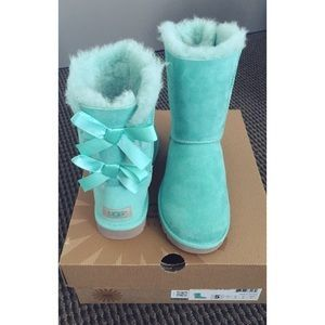 a4b12f3d633 UGG Shoes - Bailey Bow Ugg - Mint / Aqua / Tiffany Blue | Tiffany ...
