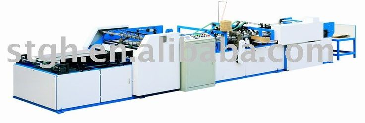 Paper-Plastic Bag Sewing and Heat-Melt Adhesive Tape Sealing Machine