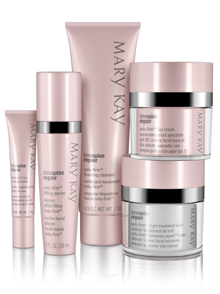 Help mom recapture a vision of youthfulness this Mother's Day with the TimeWise Repair Volu-Firm Set!