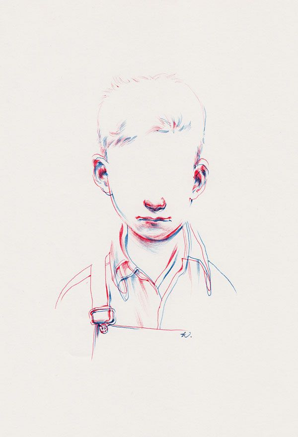 Double Vision by Taylor White, via Behance