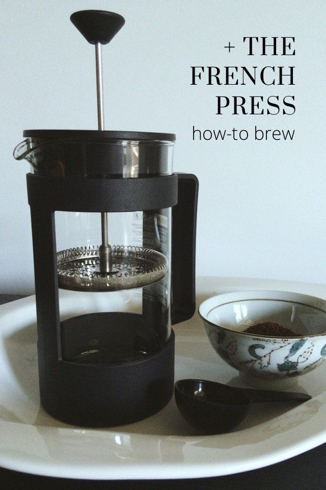 + THE FRENCH PRESS how-to brew | Grinding coffee beans ...