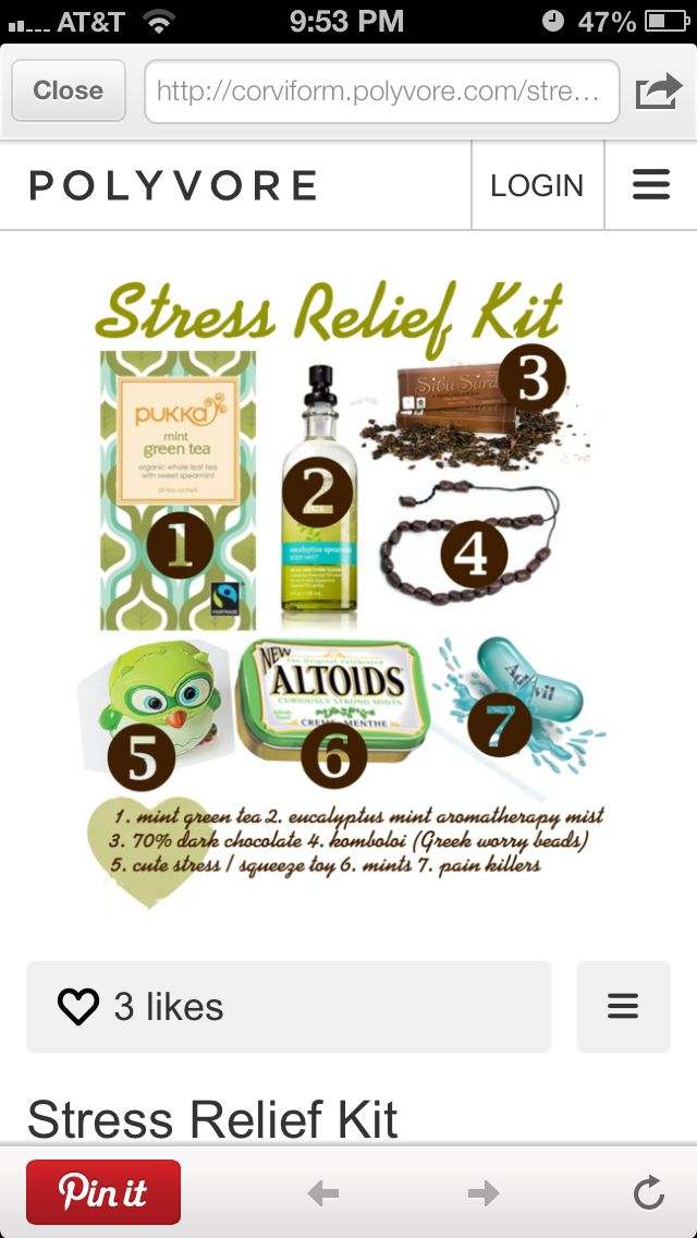 Find This Pin And More On Diy Stress Relief