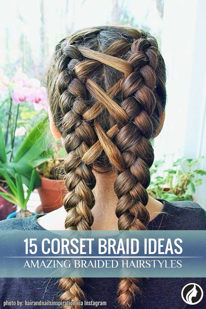 "You should definitely try wearing braid hairstyles if you are a fan of ""Game of Thrones."" Corset braid hair looks amazing, especially if you complement it with a ribbon that contrasts your hair."