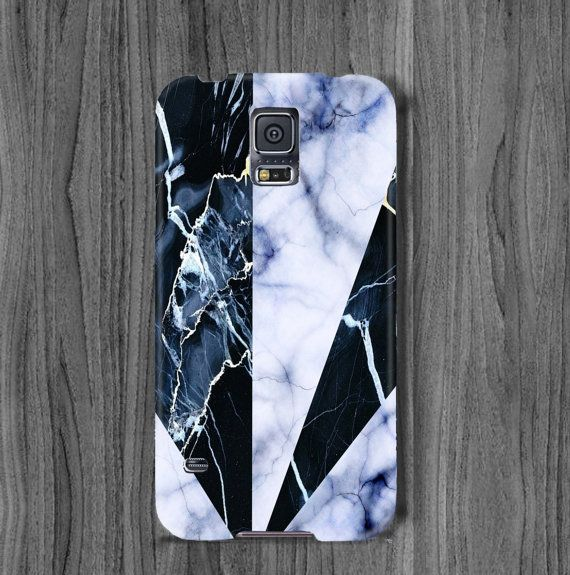 marble samsung galaxy s6 edge case s6 case triangle by mugandcase