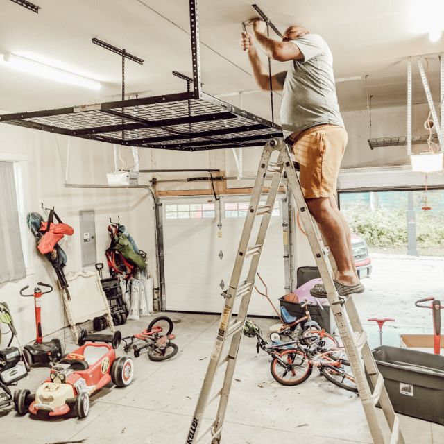 fleximounts 4x8 overhead garage storage