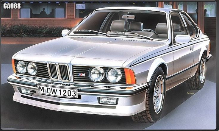 BMW M635 CSI World Car Series 1/24 Academy plastic model kit #Academy