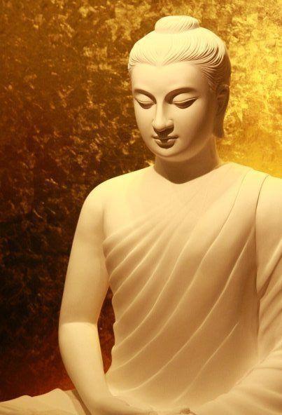 Dans le Silence intérieur la vraie Nature du Bouddha se révèle. #Zen #attitude #Bouddha