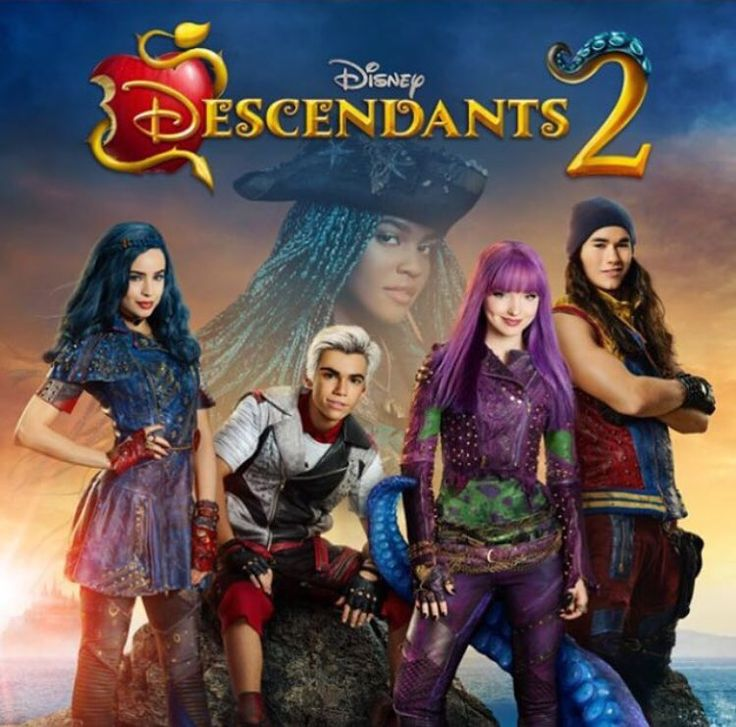 News alert! Here's the soundtrack list for the #Descendants2 soundtrack, available for pre-order this Friday! 1. Ways To Be Wicked 2. What's My Name 3. Chillin' Like A Villain 4. Space Between 5. It's Going Down 6. You and Me 7. Kiss the Girl 8. Poor Unfortunate Souls 9. Better Together 10. Evil 11. Rather Be with You