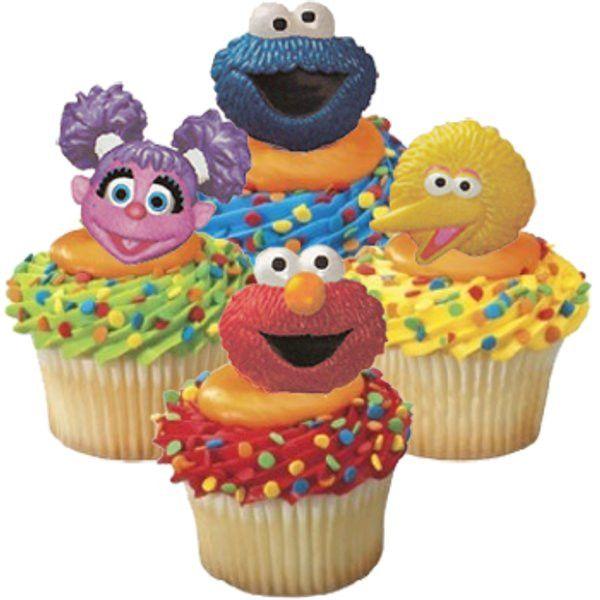 Cupcake Favor Rings - Sesame Street (24)