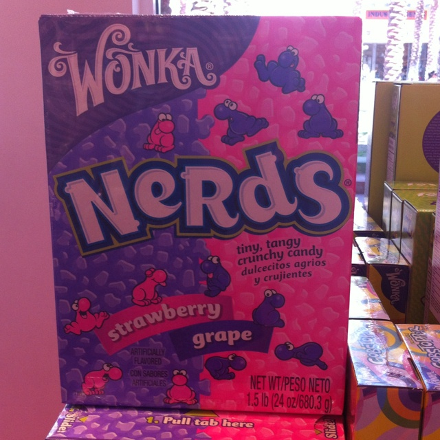 One huge box of Nerds, only in America!!