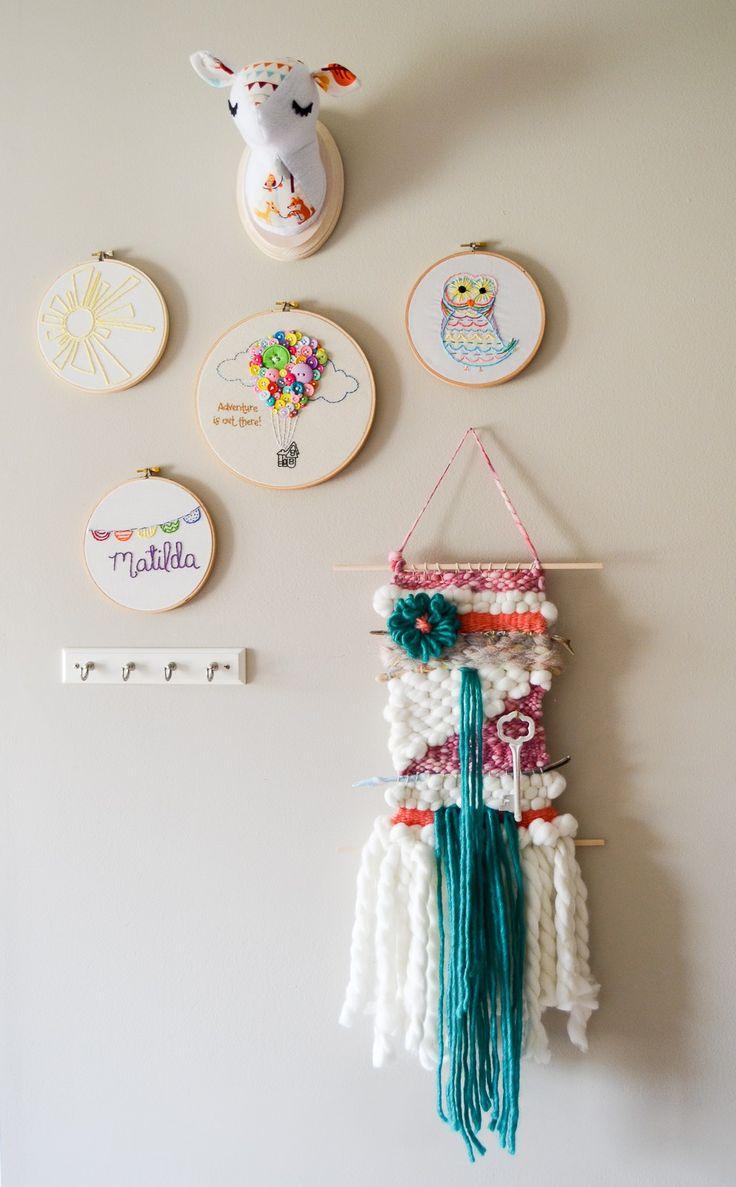 Bright and Fluffy Yarn Weaving
