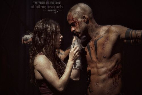 the 100 tv show   Lincoln and Octavia - the-100-tv-show Photo
