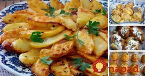 Prílohy, ktoré ľahko tromfnú dokonca aj hlavné jedlo. Prinášame vám tipy na tie najlepšie prílohy zo zemiakov, ktoré ľahko tromfnú aj hlavné jedlo. Oplatí sa vyskúšať každú jednu!