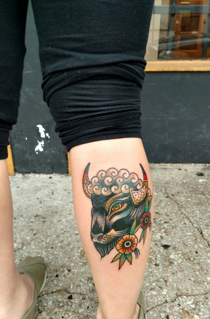 17 best ideas about buffalo tattoo on pinterest bison for Traditional bison tattoo