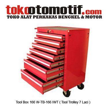 Tool Box 166 W-TB-166 IWT ( Tool Trolley 7 Laci ) - Troli Rak Perkakas Dorong  Kode : 110135 Nama : Tool Box 166 W-TB-166 IWT ( Tool Trolley  7 Laci ) Merk : IWT Tipe : W-TB-166 Berat Kirim : 25 Kg  #toolbox #hargatoolbox #toolboxkrisbow #hargajualtoolbox #kotakperkakas #jualtoolbox #boxperkakas #toolboxplastik