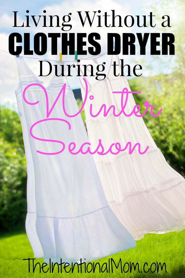 Do you think it can be possible to live without a clothes dryer during the winter season? It can, and I will show you how with these EASY systems and tools that save me hundreds of dollars each year!