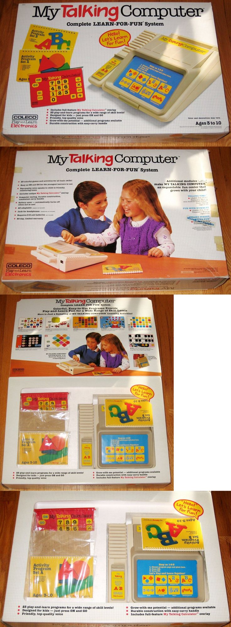 1970-1989 1185: Vintage - Coleco - My Talking Computer Playset - 1986 - Collectible - New In Box -> BUY IT NOW ONLY: $200 on eBay!