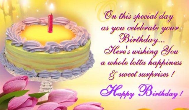 Happy Birthday SMS for Friends – SMS for Birthday   Happy ...
