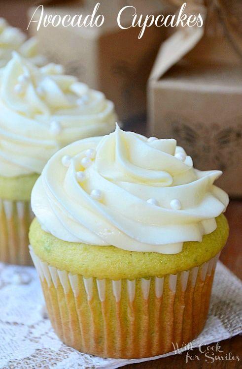 Avocado Cupcakes - Will Cook For Smiles