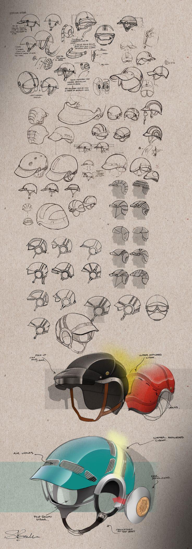 Concepts - Retro Sailing Helmet
