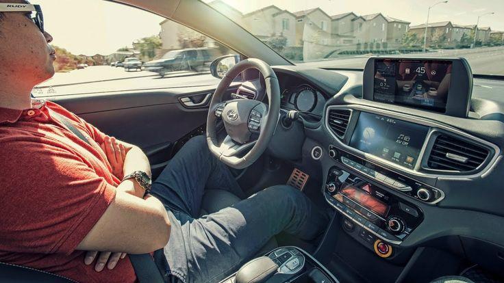 Hyundai Ioniq EV has a hidden LIDAR. How'd they do that? #electriccars #EV #EVs #green #cars #Deals #cleanair #ElectricCar