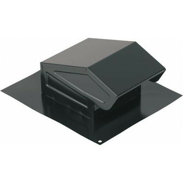 Broan Nutone 636 Roof Cap With Built In Damper Round Duct Black Epoxy 3 Or 4 Roof Cap Ceiling Exhaust Fan Broan