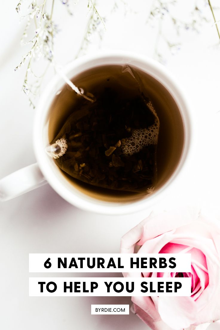 Chinese herbal insomnia tea - 6 Natural Herbs That Help You Fall Asleep Instantly