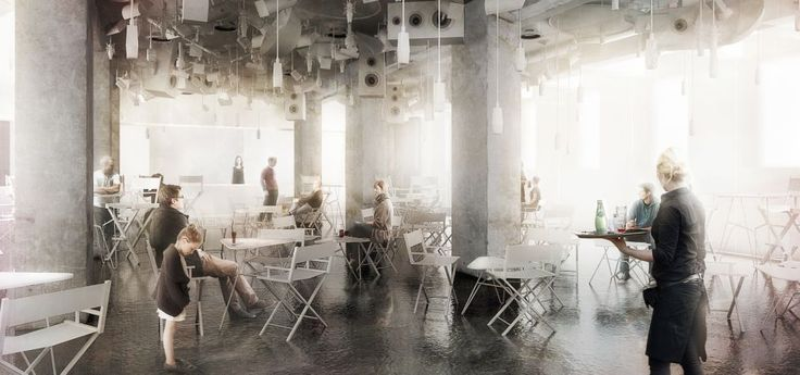 National Audiovisual Institute in Warsaw competition entry by jrk72