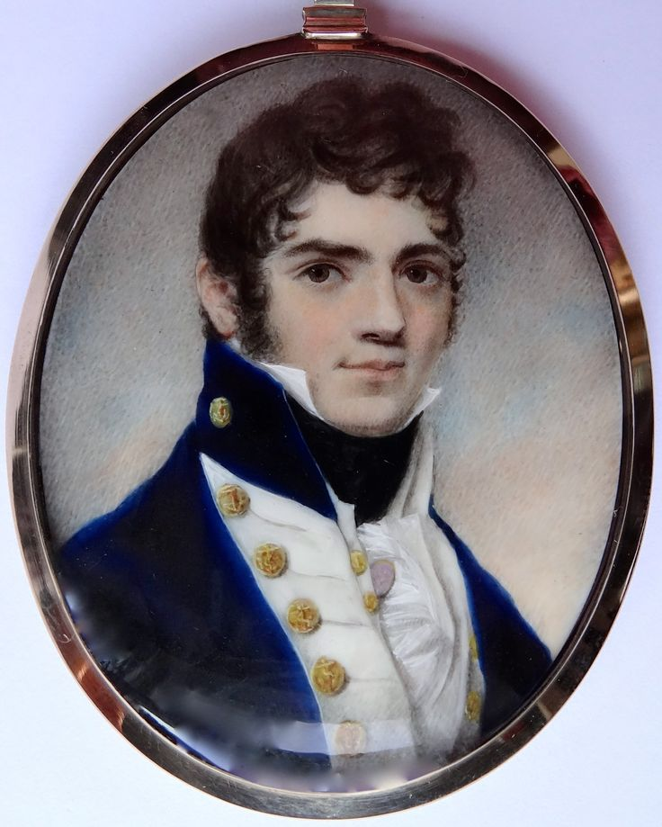 English School, Portrait of Commander E.S.Crouch RN (died 1821), ca.1810