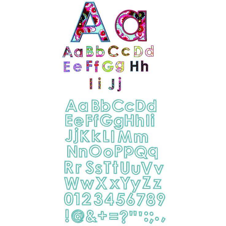 31 best applique fonts images on pinterest