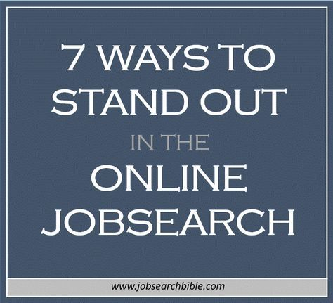 There can be no doubt that the online job search is a competitive space.  You could send out a dozen resumes, only to be lost amongst a sea of hundreds of other candidates. Without the benefit of a face to face meeting, it's a challenge to establish a lasting first impression.  But this doesn't mean you should give up now.  In the new age, there are advantages to the online job search movement and plenty of opportunities to make your digital application stand out from the crowd.