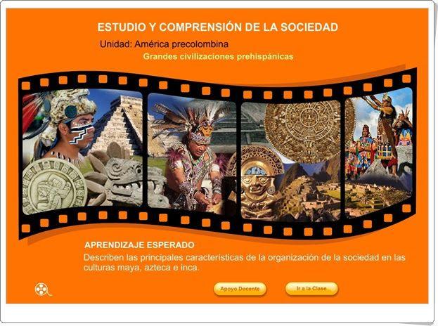 """""""Grandes civilizaciones prehispánicas"""""""