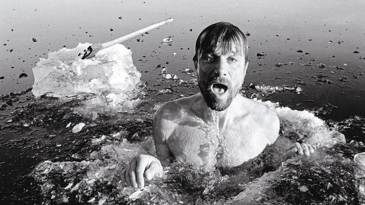 A daily routine meant to shock the system, made up of the exercises he learned from biohacker Wim Hof.