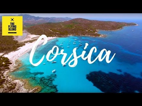 Corsica beaches - Drone flight - YouTube