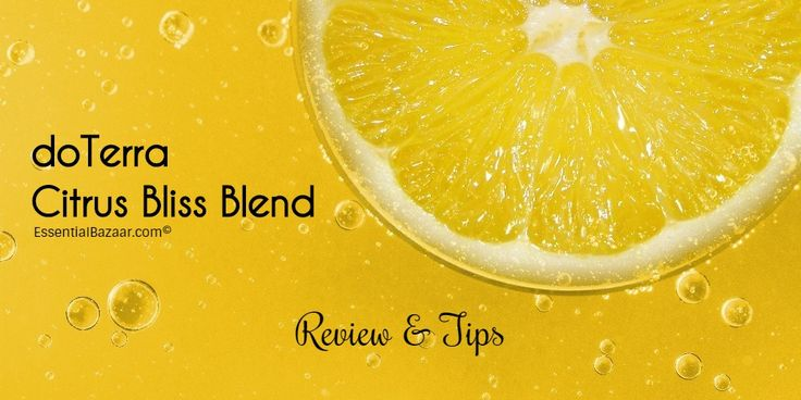 Here's an in-depth review of the Citrus Bliss doTerra Invigorating blend. With benefits, use ideas and safety tips, plus other blend ideas with it.