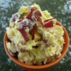 Bacon and Eggs Potato Salad, photo by Molly