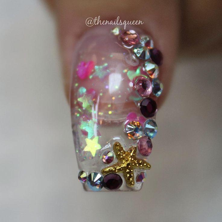 34 best Aqua Nails images on Pinterest | Aqua nails ...