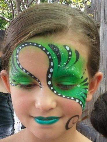 Face Painting. Now this is something I'd like to learn/do.