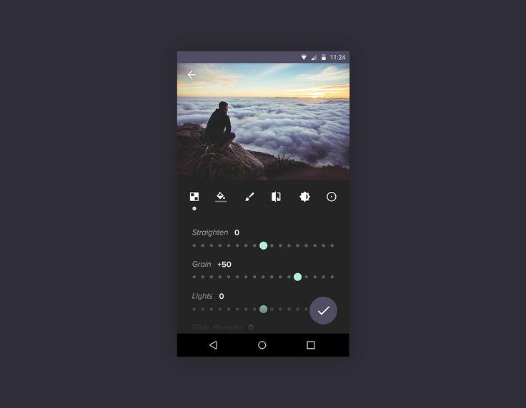 Material Photo Editing App