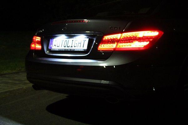 LED Kennzeichenbeleuchtung Mercedes SL R230 CLK W209 W203 C Klasse Limo 212 | eBay