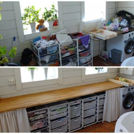 Tvättstuga & städskåp | Förvaringsdrottningen