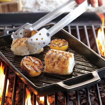 Sur La Table Pro-Ceramic Grill Pan, available at #surlatable