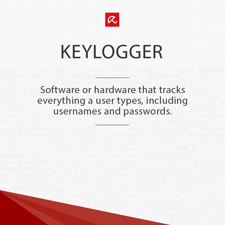 What the heck is a #keylogger? Find out more in our glossary! #ITSecurity #infosec