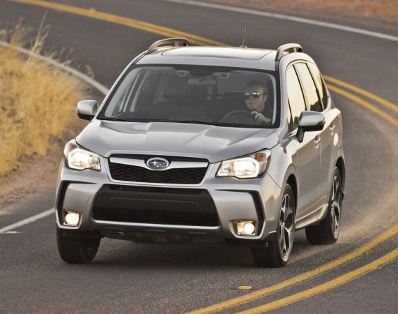 2014 Subaru Forester Silver Details 571x450 2014 Subaru Forester Full Reviews